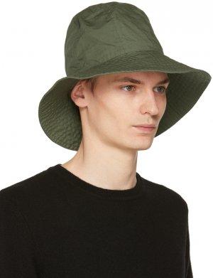 Khaki Dome Hat Engineered Garments. Цвет: olive