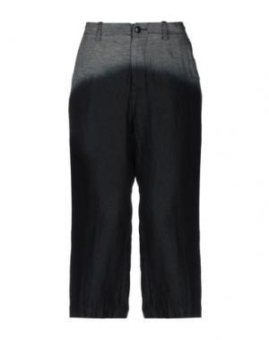 Джинсовые брюки-капри Y'S YOHJI YAMAMOTO. Цвет: синий
