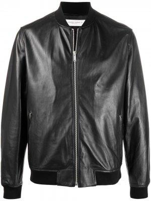 Куртка-бомбер Golden Goose. Цвет: черный