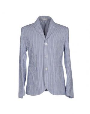 Пиджак CARVEN. Цвет: синий
