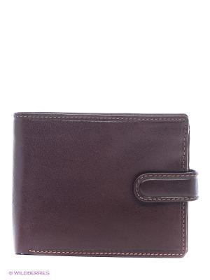 Бумажник MZ-5 Visconti. Цвет: коричневый