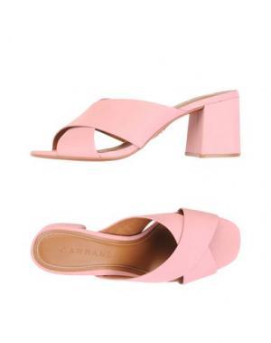 Сандалии CARRANO. Цвет: розовый