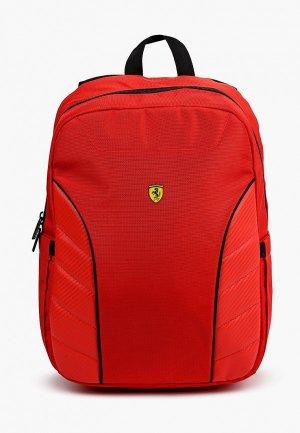Рюкзак Ferrari для ноутбуков 15, Scuderia Backpack Simple Full Red. Цвет: красный