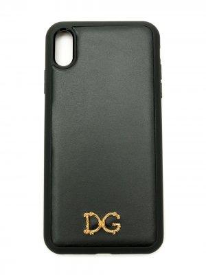 Чехол Baroque D&G для iPhone XS Max Dolce & Gabbana. Цвет: черный