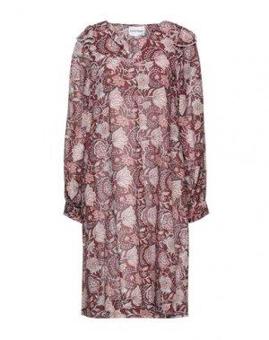 Короткое платье ANTIK BATIK. Цвет: какао