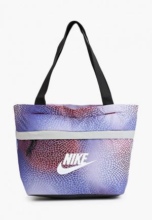 Сумка Nike Y NK TANJUN TOTE - AOP FA21. Цвет: разноцветный