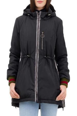Куртка-бомбер Pavel Yerokin. Цвет: черный,серебристый