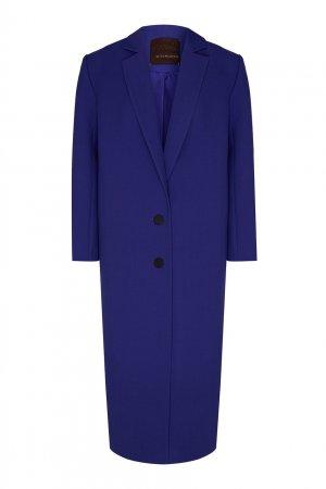 Ярко-сиреневое пальто Chapurin. Цвет: фиолетовый