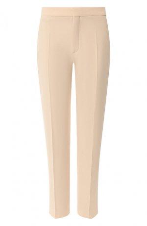 Укороченные брюки Chloé. Цвет: бежевый