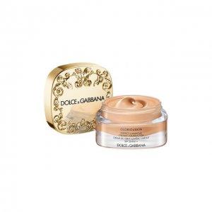 Тональный крем Gloriuoskin SPF 20, оттенок 310 Caramel Dolce & Gabbana. Цвет: бесцветный