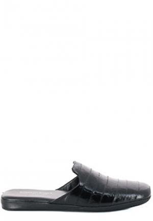 Тапочки ROBERTO ROSSI. Цвет: черный