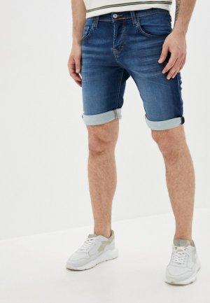 Шорты джинсовые Mustang Chicago Short. Цвет: синий