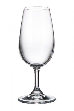 Бокалы для вина 210 мл, 6 шт Crystalite Bohemia. Цвет: прозрачный