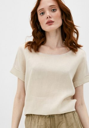 Блуза Gerard Darel. Цвет: бежевый
