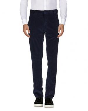 Повседневные брюки ERIC HATTON. Цвет: темно-синий