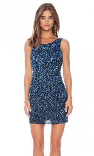 Платье-майка kenzie Parker. Цвет: синий