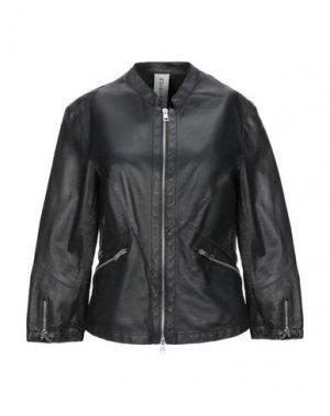 Куртка DELAN. Цвет: черный