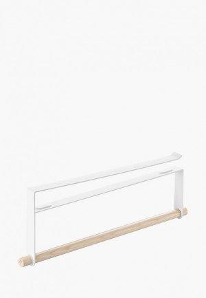 Держатель для бумажных полотенец Yamazaki TOSCA 32х12 см. Цвет: белый