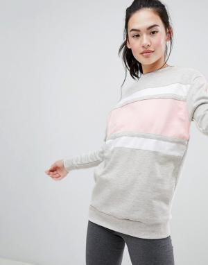 Длинный свитер -Серый BLFD