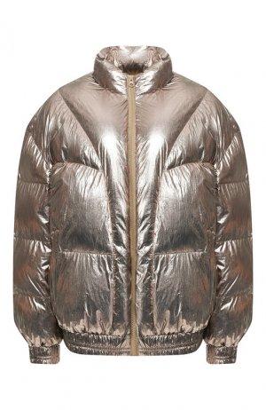 Утепленная куртка Isabel Marant Etoile. Цвет: бронзовый