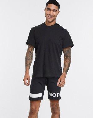 Черные шорты -Черный цвет Bjorn Borg
