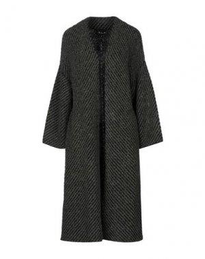Легкое пальто LES COPAINS. Цвет: темно-зеленый