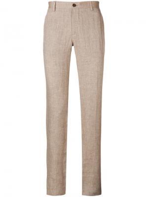 Классические брюки чинос Etro. Цвет: бежевый