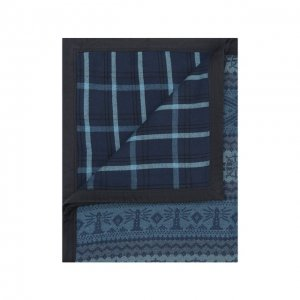 Одеяло Ralph Lauren. Цвет: синий