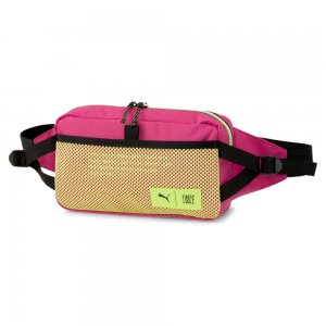 Сумка на пояс x FIRST MILE Waist Bag PUMA. Цвет: черный