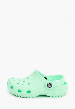 Сабо Crocs Classic Clog K. Цвет: зеленый