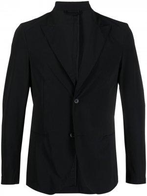 Однобортный пиджак Hydrogen. Цвет: черный