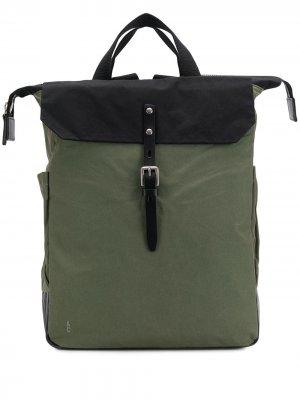 Структурированный рюкзак Ally Capellino. Цвет: зеленый