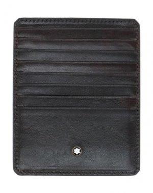 Чехол для документов MONTBLANC. Цвет: темно-коричневый