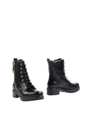 Полусапоги и высокие ботинки FANTASY. Цвет: черный