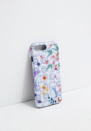 Чехол для iPhone Furla 6/7 Plus. Цвет: белый
