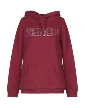 Толстовка BENCH.. Цвет: красно-коричневый