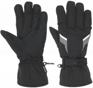 Перчатки мужские , размер 10 Glissade. Цвет: черный