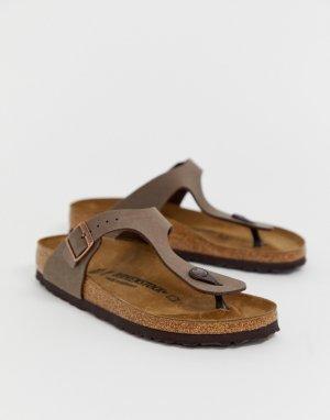 Коричневые сандалии Gizeh-Коричневый Birkenstock
