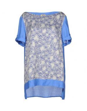 Блузка ALVIERO MARTINI 1a CLASSE. Цвет: грифельно-синий