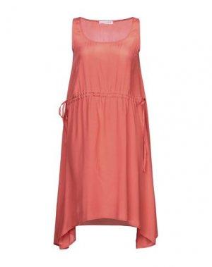 Короткое платье CAFèNOIR. Цвет: коралловый