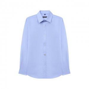 Рубашка Alessandro Borelli Milano. Цвет: синий