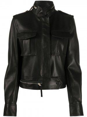 Куртка с двумя нагрудными карманами Helmut Lang. Цвет: черный