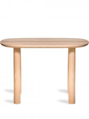 Деревянный столик Elephant EO. Цвет: коричневый