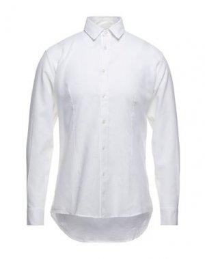 Pубашка GREY DANIELE ALESSANDRINI. Цвет: белый