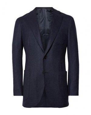 Пиджак P.JOHNSON. Цвет: темно-синий