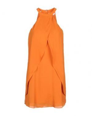 Короткое платье A.L.C.. Цвет: оранжевый