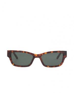 Солнечные очки HAN KJØBENHAVN. Цвет: темно-коричневый