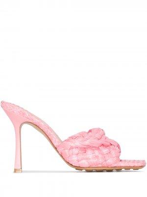 Босоножки Stretch 90 Bottega Veneta. Цвет: розовый