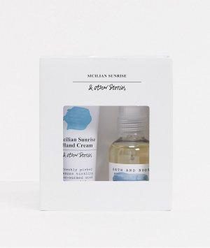 Подарочный набор из мини-спрея для тела и крема рук – Sicilian Sunrise-Многоцветный & Other Stories