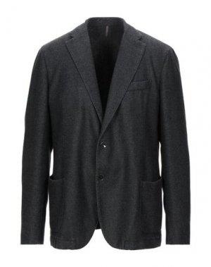 Пиджак SANTANIELLO. Цвет: стальной серый